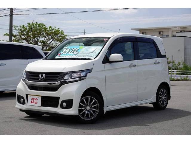 沖縄県の中古車ならN-WGNカスタム G ナビ・リアカメラ・ETC