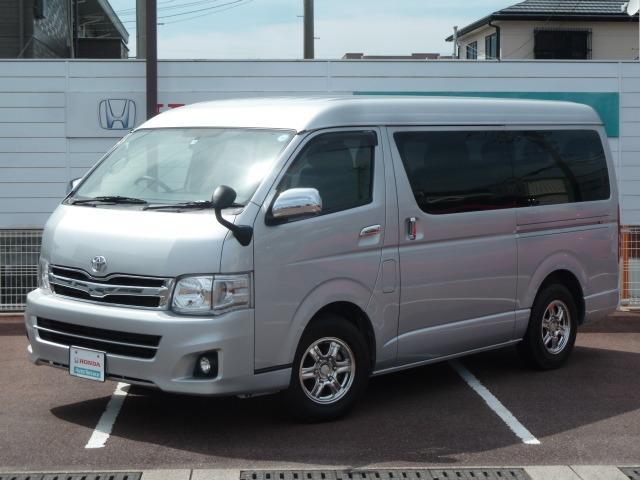 トヨタ 2.7 GL ロング ミドルルーフ ワンオーナー ETC 純
