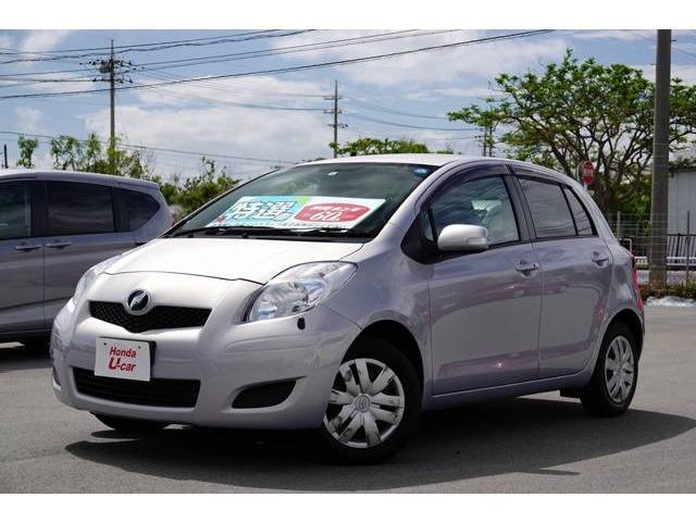 沖縄県の中古車ならヴィッツ F ナビ