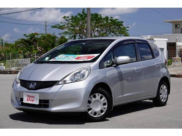 沖縄県の中古車ならフィット 13G・スマートセレクション CD・スマートキー