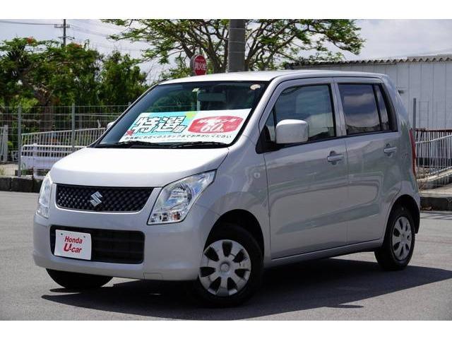 沖縄県の中古車ならワゴンR FXアイドリングストップ ナビ