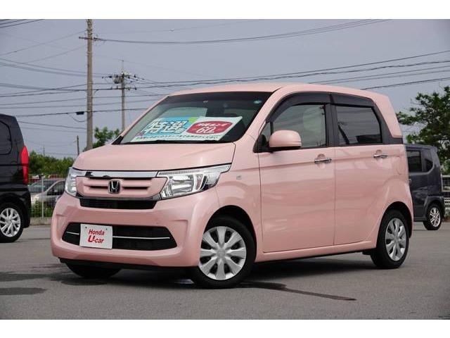 N-WGN(沖縄 中古車) 色:ピンクパール 価格:88.8万円 年式:2016(平成28)年 走行距離:3.3万km