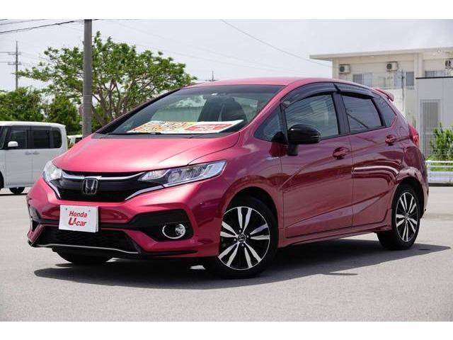 沖縄県の中古車ならフィットハイブリッド S ホンダセンシング デモカーアップ