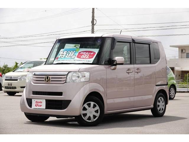 N-BOX(沖縄 中古車) 色:ピンクメタリック 価格:82.8万円 年式:2012(平成24)年 走行距離:5.5万km