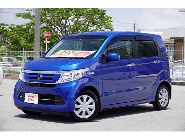 N-WGN(沖縄 中古車) 色:ブルーメタリック 価格:126.8万円 年式:2018(平成30)年 走行距離:0.4万km