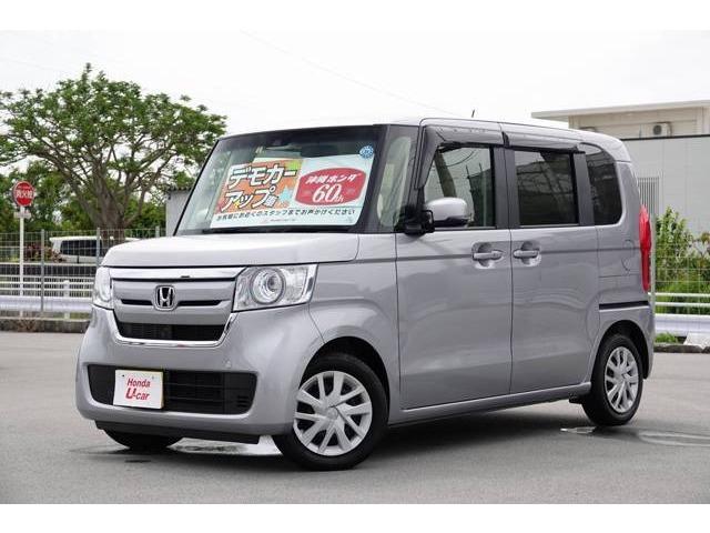 N-BOX(沖縄 中古車) 色:シルバーメタリック 価格:149.8万円 年式:2018(平成30)年 走行距離:0.4万km