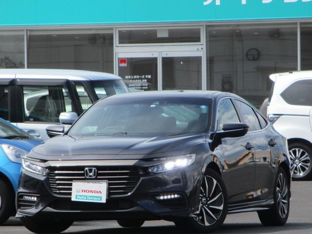 ホンダ EX・ブラックスタイル センシング運転支援 試乗車 ドラレコ