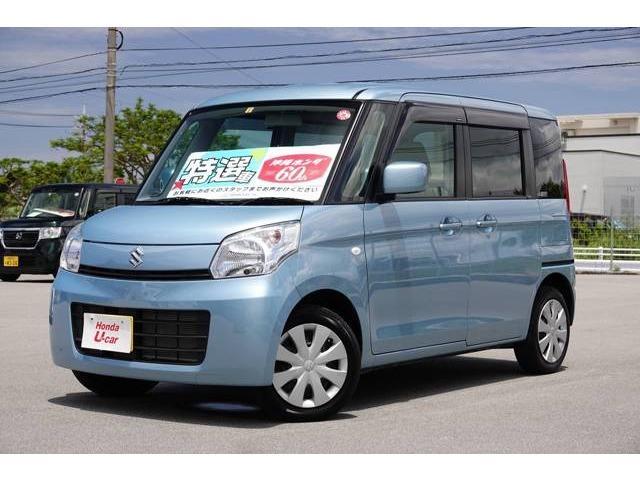 沖縄県の中古車ならスペーシア X CD付き