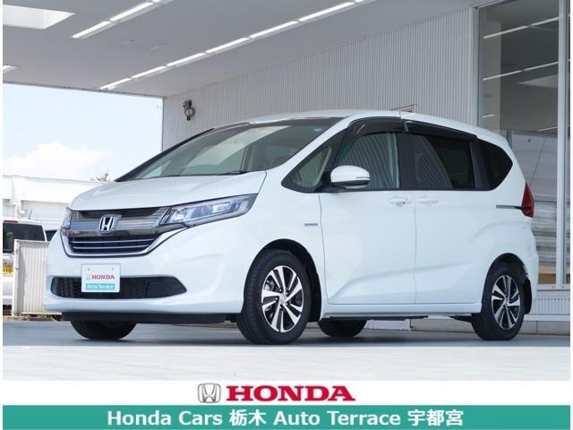 ホンダ ハイブリッド・EX デモカー・ナビ・衝突軽減ブレーキ・ETC