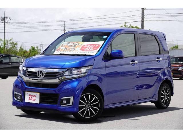 N-WGN(沖縄 中古車) 色:ブルーメタリック 価格:143.8万円 年式:2018(平成30)年 走行距離:1.3万km