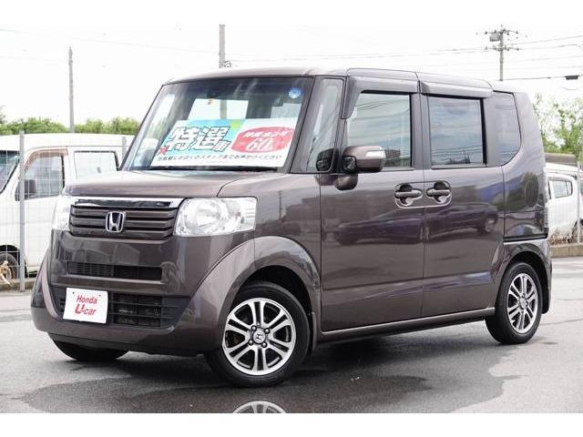 N-BOX(沖縄 中古車) 色:ブラウンパール 価格:98.8万円 年式:2014(平成26)年 走行距離:5.1万km