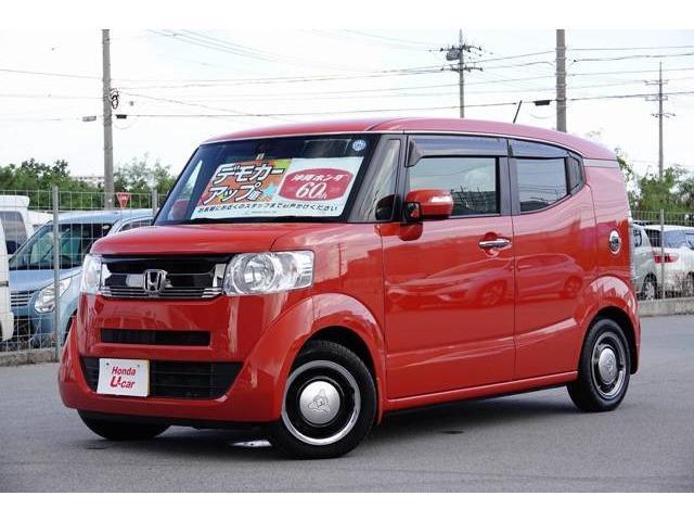N-BOXスラッシュ(沖縄 中古車) 色:オレンジ 価格:149.8万円 年式:2018(平成30)年 走行距離:0.6万km