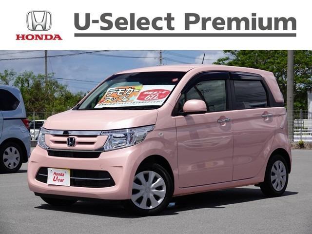 沖縄の中古車 ホンダ N-WGN 車両価格 126.8万円 リ済別 2018(平成30)年 0.6万km ピンクパール