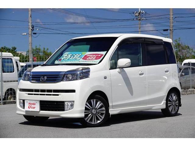 沖縄の中古車 ホンダ ライフ 車両価格 65.8万円 リ済別 2011(平成23)年 8.4万km ホワイトパール