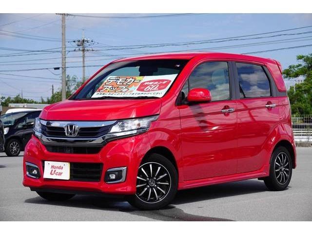 沖縄県の中古車ならN-WGNカスタム G・Lパッケージ デモカーアップ