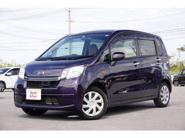 沖縄の中古車 ダイハツ ムーヴ 車両価格 54.8万円 リ済別 2013(平成25)年 4.0万km ダークブルーメタリック