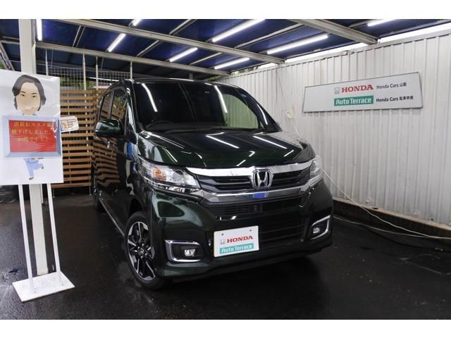 ホンダ G ターボSSパッケージII 元試乗車 ナビ CTBA ドラ