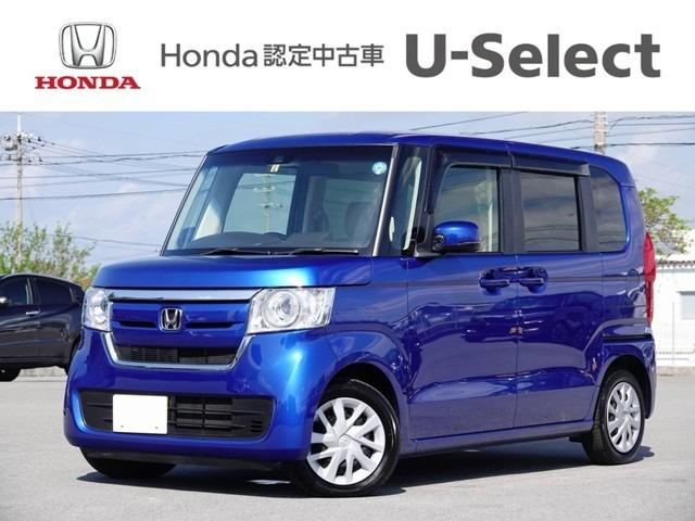 N-BOX(沖縄 中古車) 色:ブルーメタリック 価格:163.8万円 年式:2018(平成30)年 走行距離:0.5万km