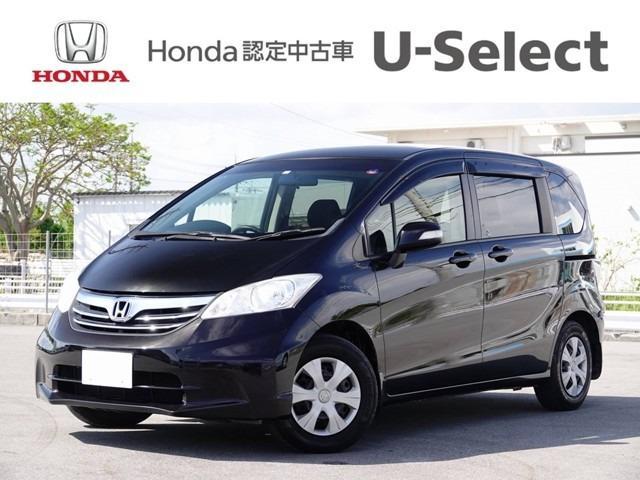 沖縄の中古車 ホンダ フリード 車両価格 88.8万円 リ済別 2012(平成24)年 7.1万km ブラックパール