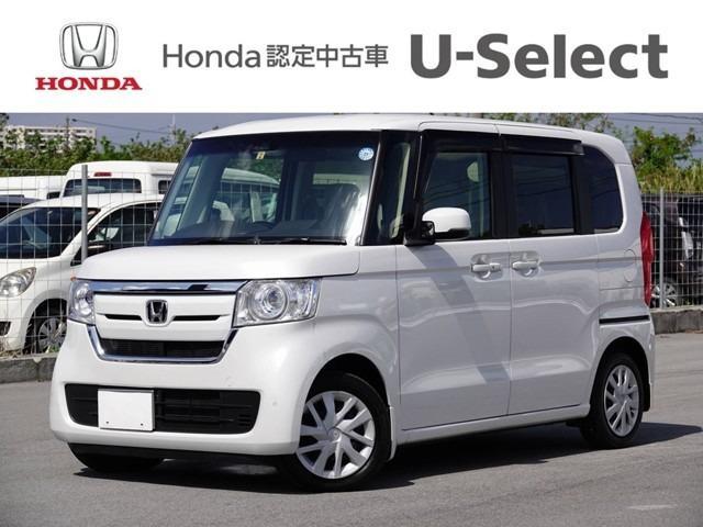 N-BOX(沖縄 中古車) 色:ホワイトパール 価格:159.8万円 年式:2018(平成30)年 走行距離:0.7万km
