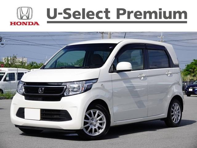 沖縄の中古車 ホンダ N-WGN 車両価格 99.8万円 リ済別 2016(平成28)年 2.0万km ホワイトパール