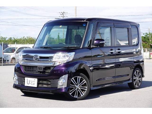 沖縄県浦添市の中古車ならタント カスタムRS トップエディションSA 衝突軽減ブレーキ付き