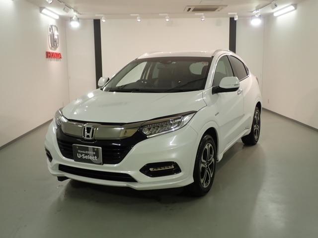 ホンダ ハイブリッドZ・ホンダセンシング 新車保証継承 ナビ ETC
