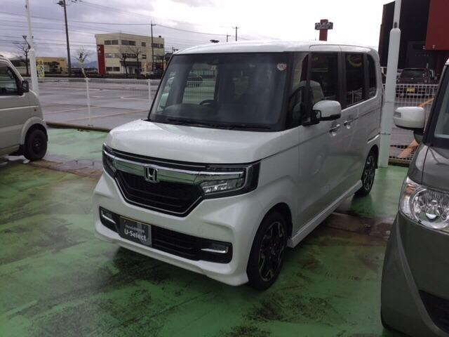 「ホンダ」「N-BOX」「コンパクトカー」「福井県」の中古車