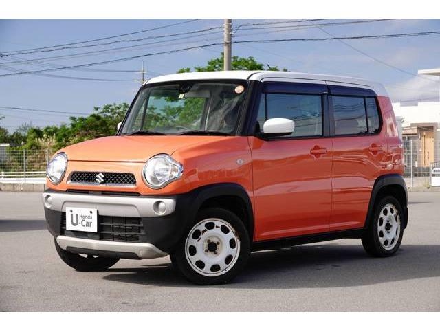 沖縄県の中古車ならハスラー G CD・スマートキー付き
