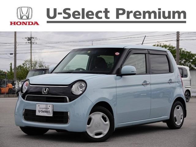 沖縄の中古車 ホンダ N-ONE 車両価格 129.8万円 リ済別 2019(平成31)年 0.9万km サーフブルー