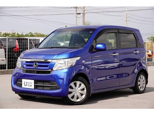 N-WGN(沖縄 中古車) 色:ブリリアントスポーティブルー・メタリック 価格:79.8万円 年式:2016(平成28)年 走行距離:1.4万km