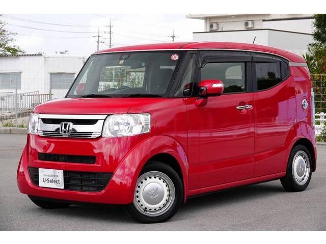 沖縄県豊見城市の中古車ならN-BOXスラッシュ X 衝突軽減ブレーキ付き