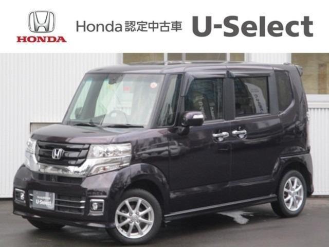 ホンダ N-BOXカスタム G SSブラックスタイルパッケージ 4WD ワンオーナー