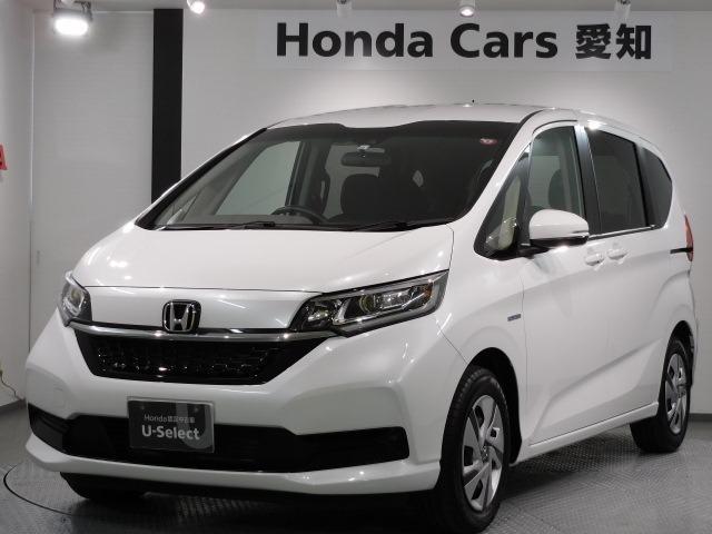 ホンダ HV・GセンシングCパケ 現行車 新車保証 禁煙試乗車 ナビ