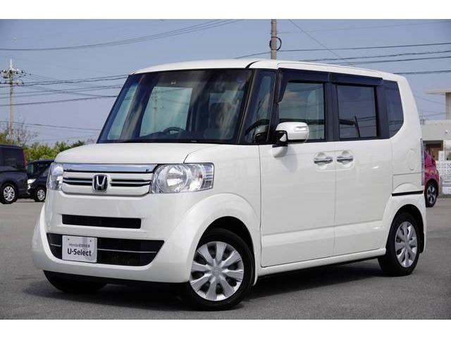 沖縄県の中古車ならN-BOX G・Lパッケージ ディスプレイオーディオ・リアカメラ付き