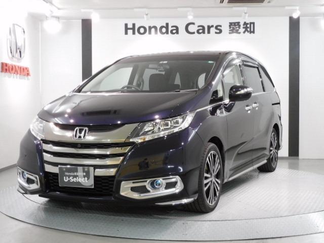 ホンダ アブソルート・EX 1年保証 禁煙車 純正ナビ リア席モニタ