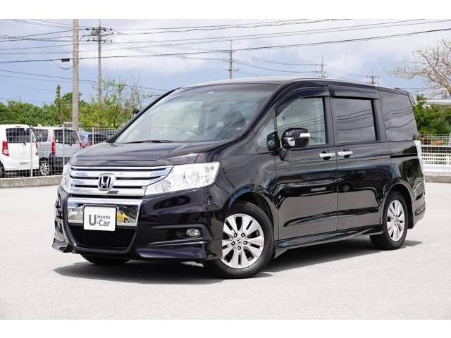 沖縄県の中古車ならステップワゴンスパーダ Z ナビ・リアカメラ・ETC付き
