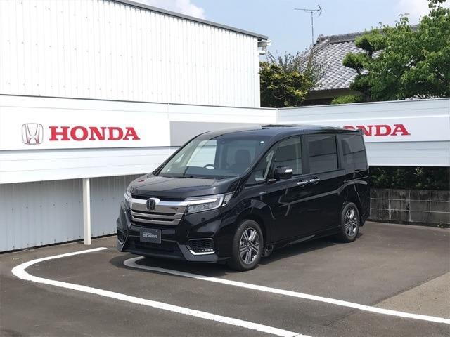 ホンダ ステップワゴンスパーダ スパーダハイブリッド G・EX ホンダセンシング デモカー車