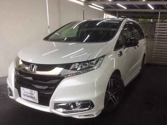 「ホンダ」「オデッセイ」「ミニバン・ワンボックス」「山梨県」「Honda Cars 山梨 U-Select 昭和」の中古車