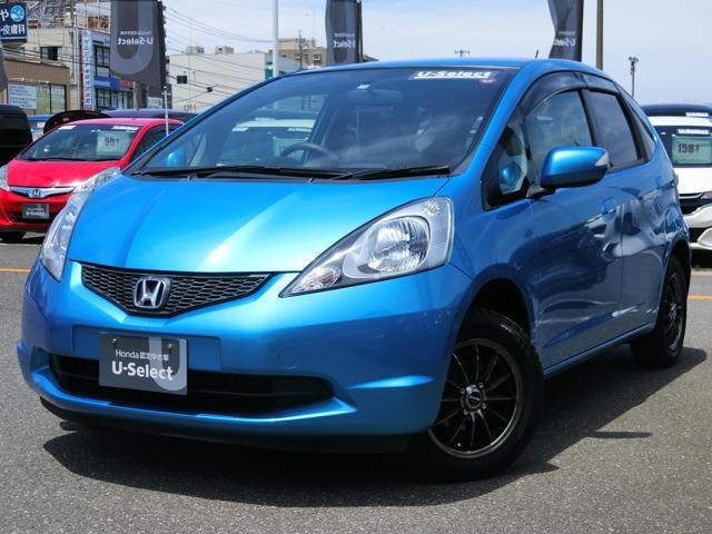 ホンダ フィット 13G イクリプスメモリーナビ Bluetooth 社外AW フルセグTV ドアバイザー 禁煙車 ワンオーナー スチール&スタッドレスタイヤ