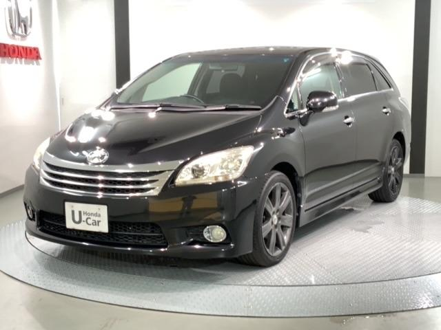 トヨタ マークXジオ 2.4 エアリアル 禁煙車 ワンオーナー 純正メモリーナビ