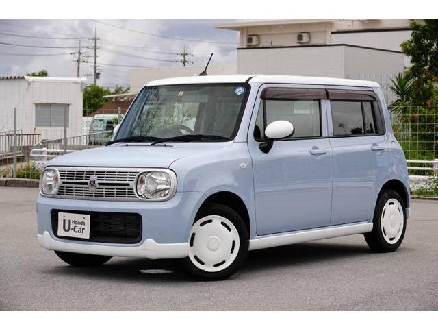 沖縄県の中古車ならアルトラパン リミテッド CD付