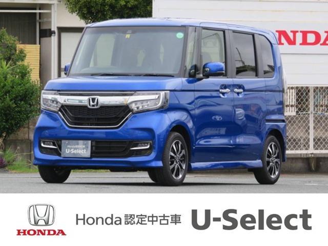 ホンダ N-BOXカスタム G・EXホンダセンシング 弊社デモカー ナビ HondaSE