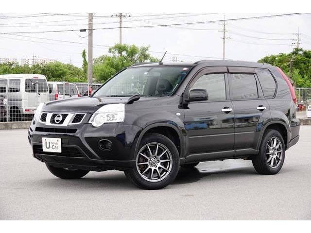 沖縄の中古車 日産 エクストレイル 車両価格 99.8万円 リ済別 2012(平成24)年 6.6万km ブラックパール