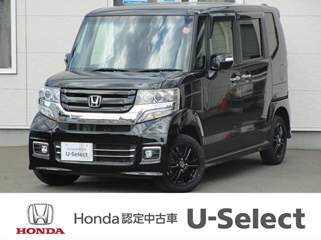 ホンダ N-BOXカスタム G SSブラックスタイルパッケージ ワンオーナー・純正エンス