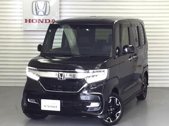 ホンダ N-BOXカスタム G・Lターボホンダセンシング Honda SENSING 純