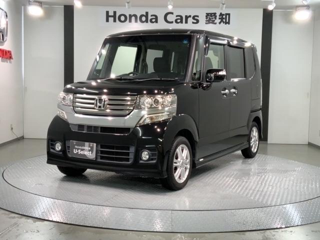 ホンダ N-BOXカスタム G・Lパッケージ 3年保証 ワンオ-ナ- 黒内装 地デジ 両側電動スライド AUTOライト