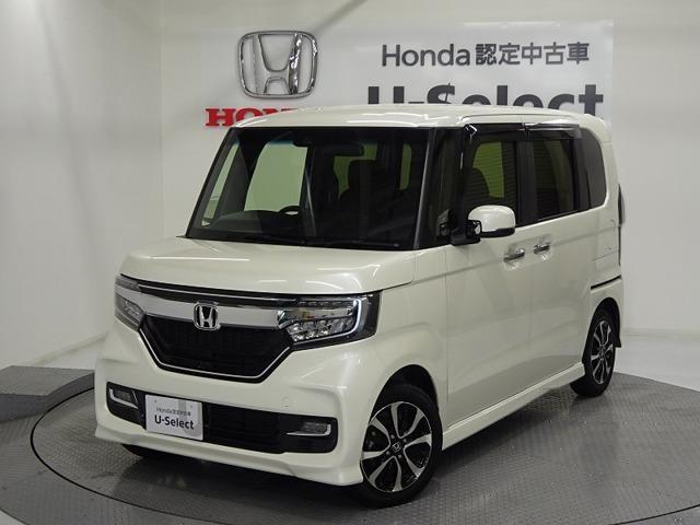 ホンダ N-BOXカスタム G・EXホンダセンシング 助手席Sスライド 14inアルミ