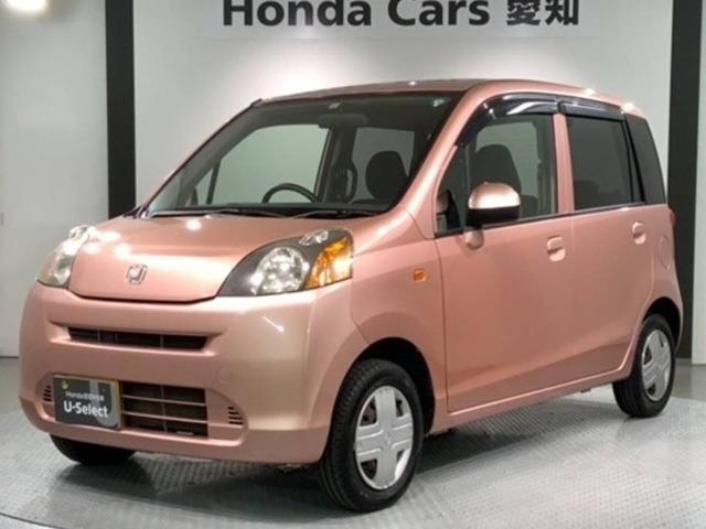 ホンダ ライフ G 禁煙ワンオ-ナ-車 希少なピンク色 Rカメラ