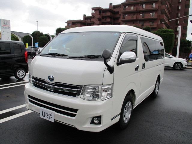 トヨタ 2.7 DX ロング ミドルルーフ 4WD 10人乗り ナビ